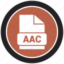 file format, aac, extension, file