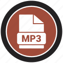 file format, extension, file, mp3