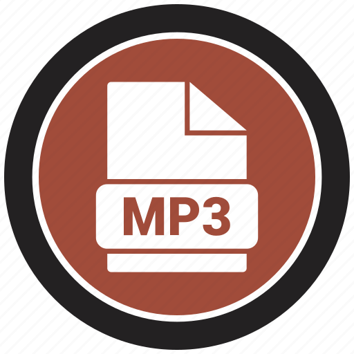 extension, file, file format, mp3 icon