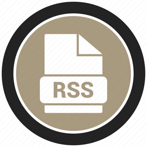 extension, file, file format, rss icon
