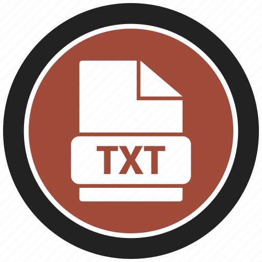 extensiom, file, file format, txt icon