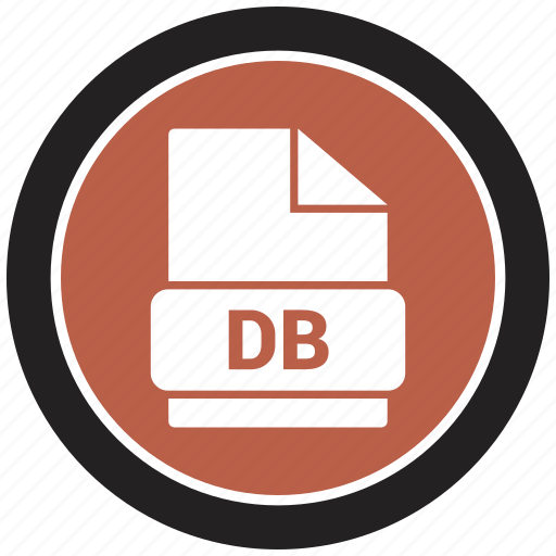 File format, db, extension, file icon