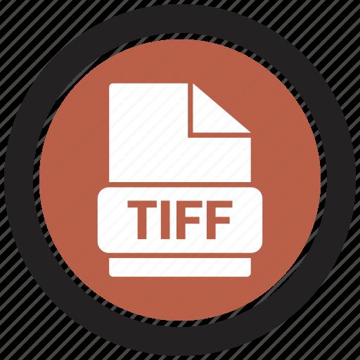 extension, file, file format, tiff icon