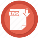archive, compressed, file, format, svg file icon