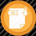 db, document, extension, folder, paper