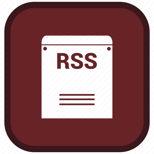extension, file, format, rss icon