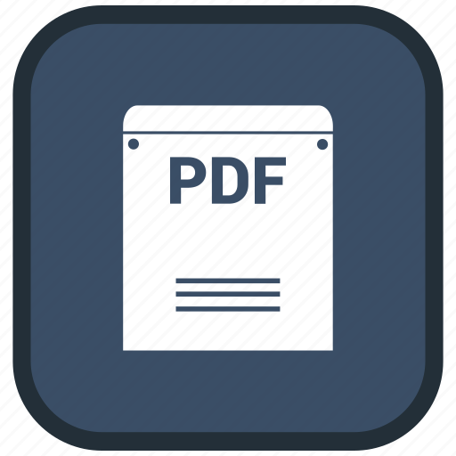 Extension, file, format, pdf icon - Download on Iconfinder