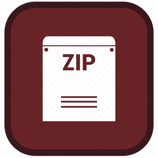 extension, file, format, zip icon