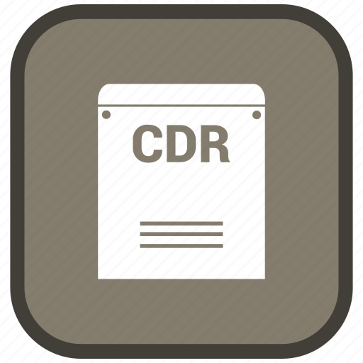 Cdr, extension, file, format icon - Download on Iconfinder