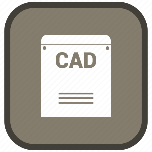 cad, extension, file, format icon