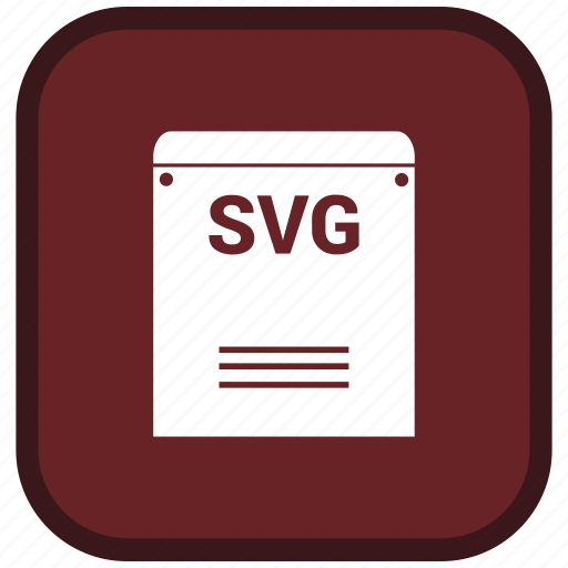 extension, file, format, svg icon
