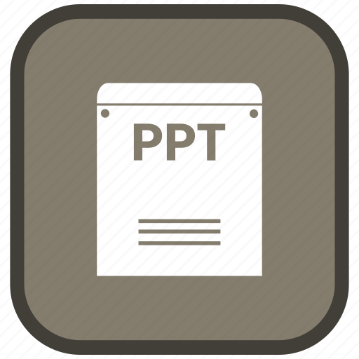 Extension, file, format, ppt icon - Download on Iconfinder