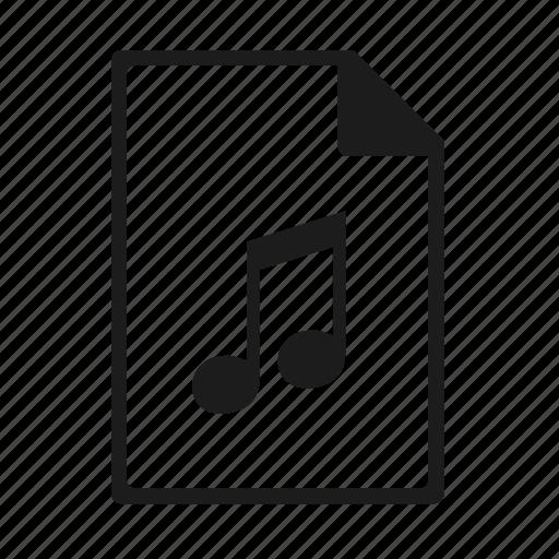 file, format, midi icon