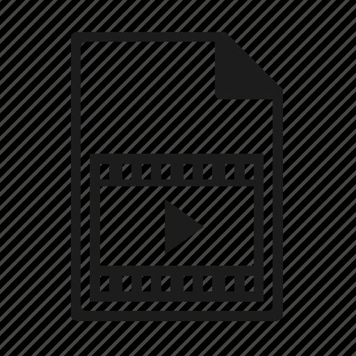 file, format, wmv icon