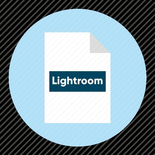 Adobe, document, extension, file, filetype, format, lightroom icon - Download on Iconfinder