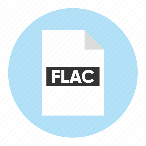 Audio, document, extension, file, filetype, flac, format icon - Download on Iconfinder