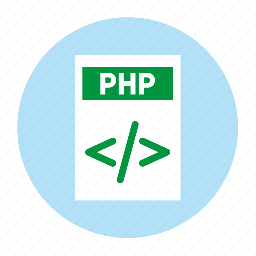 Document, extension, file, filetype, format, php, type icon - Download on Iconfinder