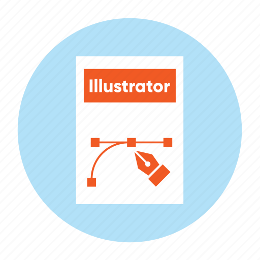 Adobe, document, extension, file, filetype, format, illsutrator icon - Download on Iconfinder