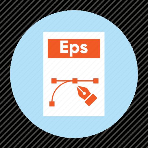 Document, eps, extension, file, filetype, format, illustrator icon - Download on Iconfinder