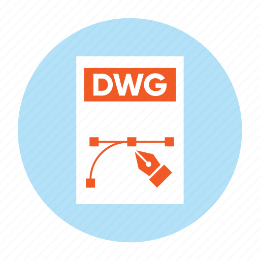 Document, dwg, extension, file, filetype, format, type icon - Download on Iconfinder