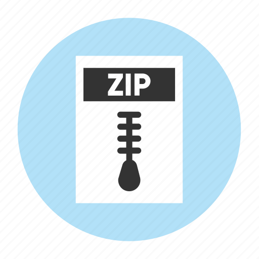 Document, extension, file, filetype, format, type, zip icon - Download on Iconfinder