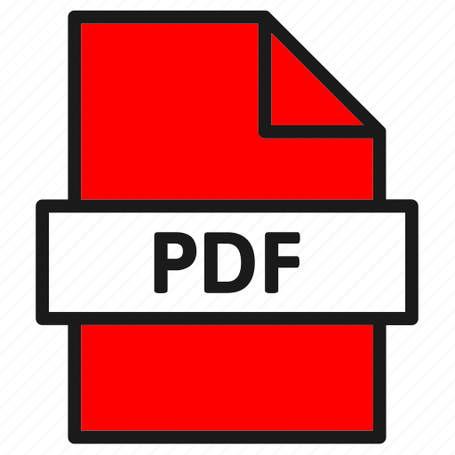 document, extension, file, filetype, format, pdf, type icon
