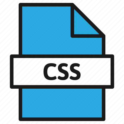 css, document, extension, file, filetype, format, type icon