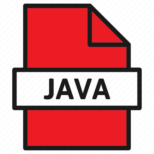 Document, extension, file, filetype, format, java, type icon - Download on Iconfinder