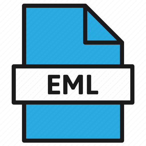 document, eml, extension, file, filetype, format, type icon