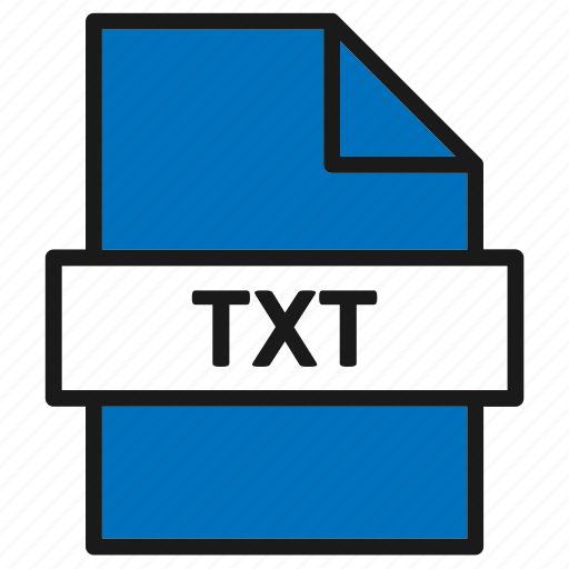 Document, extension, file, filetype, format, txt, type icon - Download on Iconfinder