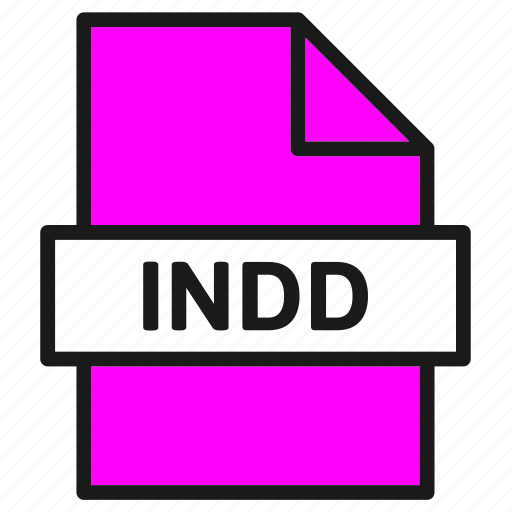 document, extension, file, format, in design, indd, indesign icon