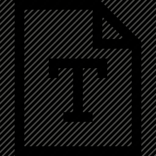 file, line, mini, text icon