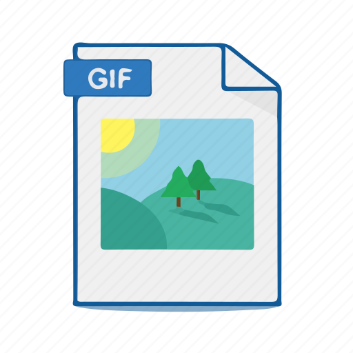 document, file, format, gif, image, photo, picture icon