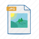 document, file, format, image, photo, picture icon