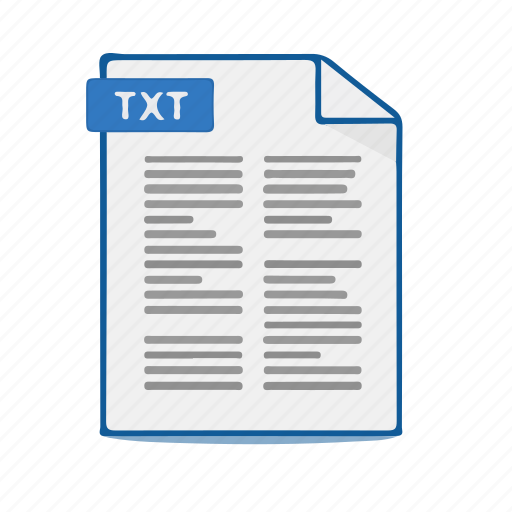 Word, format, text, notepad, file, document icon