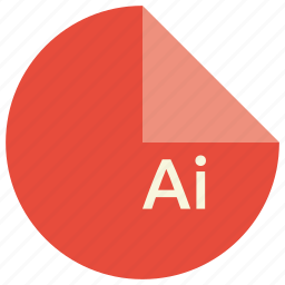 adobe, extension, file, format, graphics, illustrator, software icon