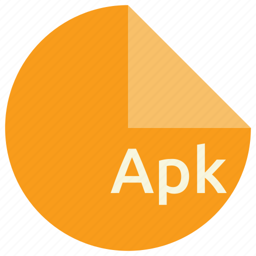 android, apk, extension, file, format icon