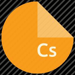 c, extension, file, format, language, programming, sharp icon