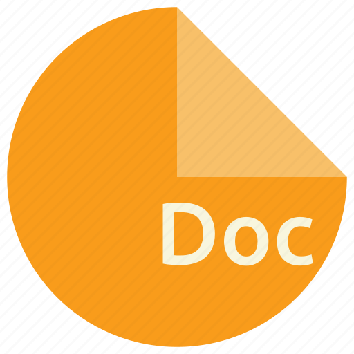 doc, document, extension, file, format, windows icon