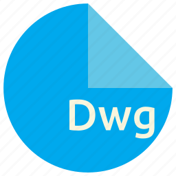cad, design, dwg, extension, file, format icon