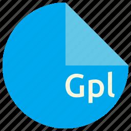 extension, file, format, gimp, gpl, palette icon