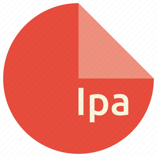 extension, file, format, ipa icon