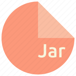 archive, extension, file, format, jar, java icon