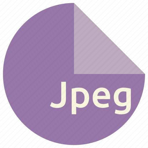 extension, file, format, image, jpeg icon