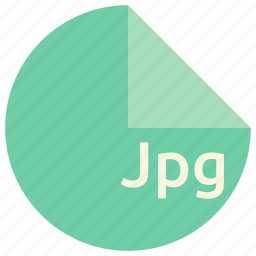 extension, file, format, image, jpg icon