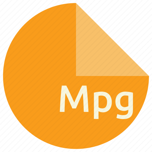 extension, file, format, mpg, multimedia icon