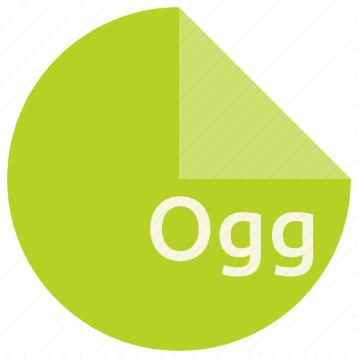 extension, file, format, multimedia, ogg, open, standard icon
