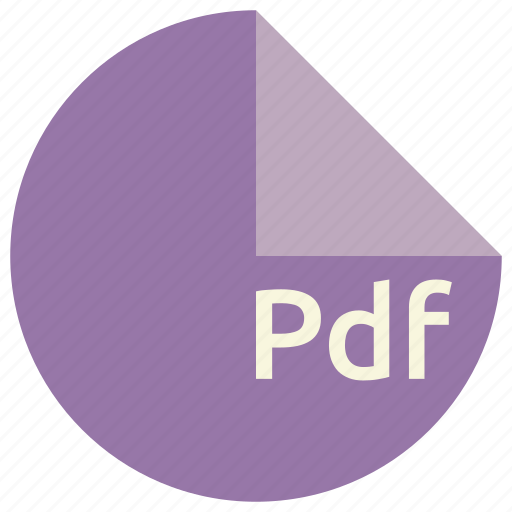 document, extension, file, format, pdf icon