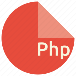 backend, extension, file, format, language, php, scripting icon