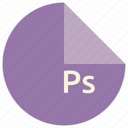 extension, file, format, graphics, photoshop, ps, shapes icon